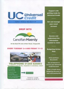 Universal credit book an appointment