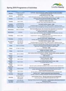 Spring 2018 Programme441