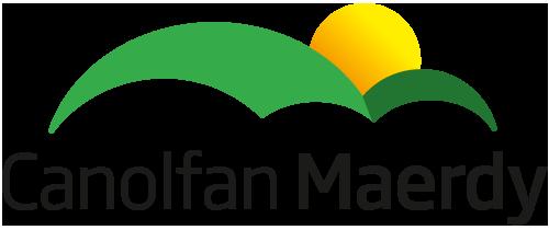 Canolfan Maerdy - logo